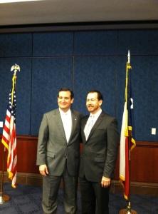 1st DC trip- Ted Cruz and me