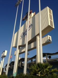 Famous Dodgers sign