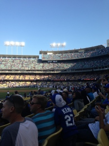1st Dodgers game