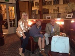 Me, Carter and Jill in Paris
